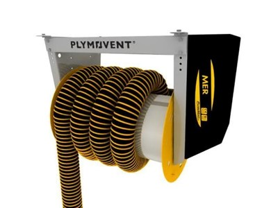 Plymovent motorised hose reel (MER)