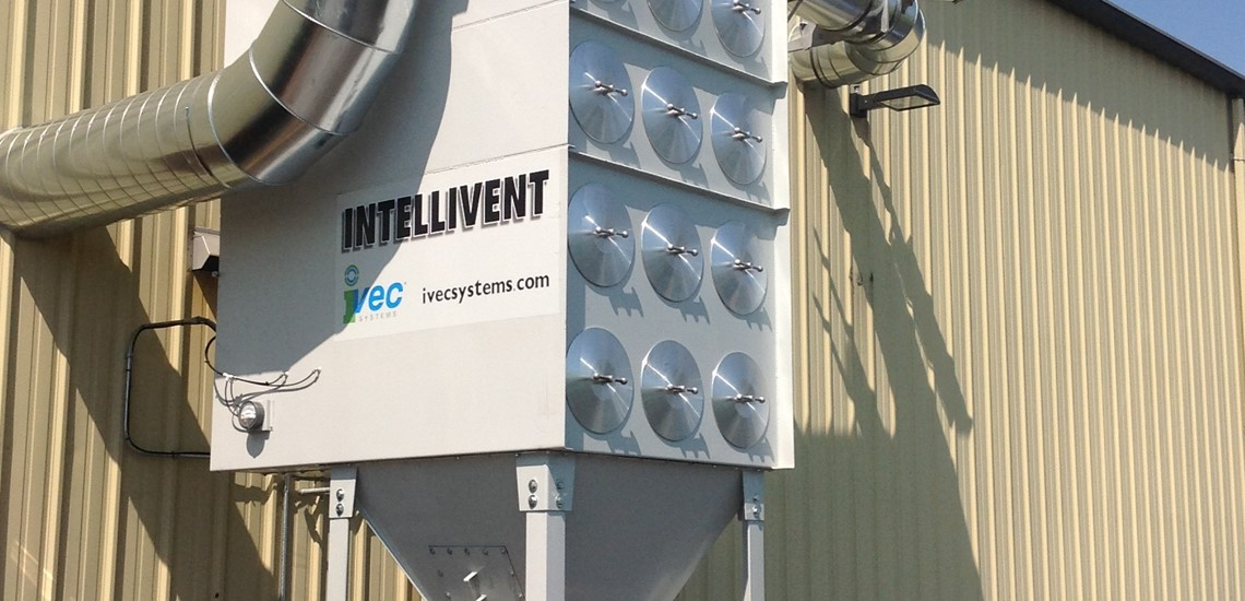 Ivec Systems Cartridge Dust Collector