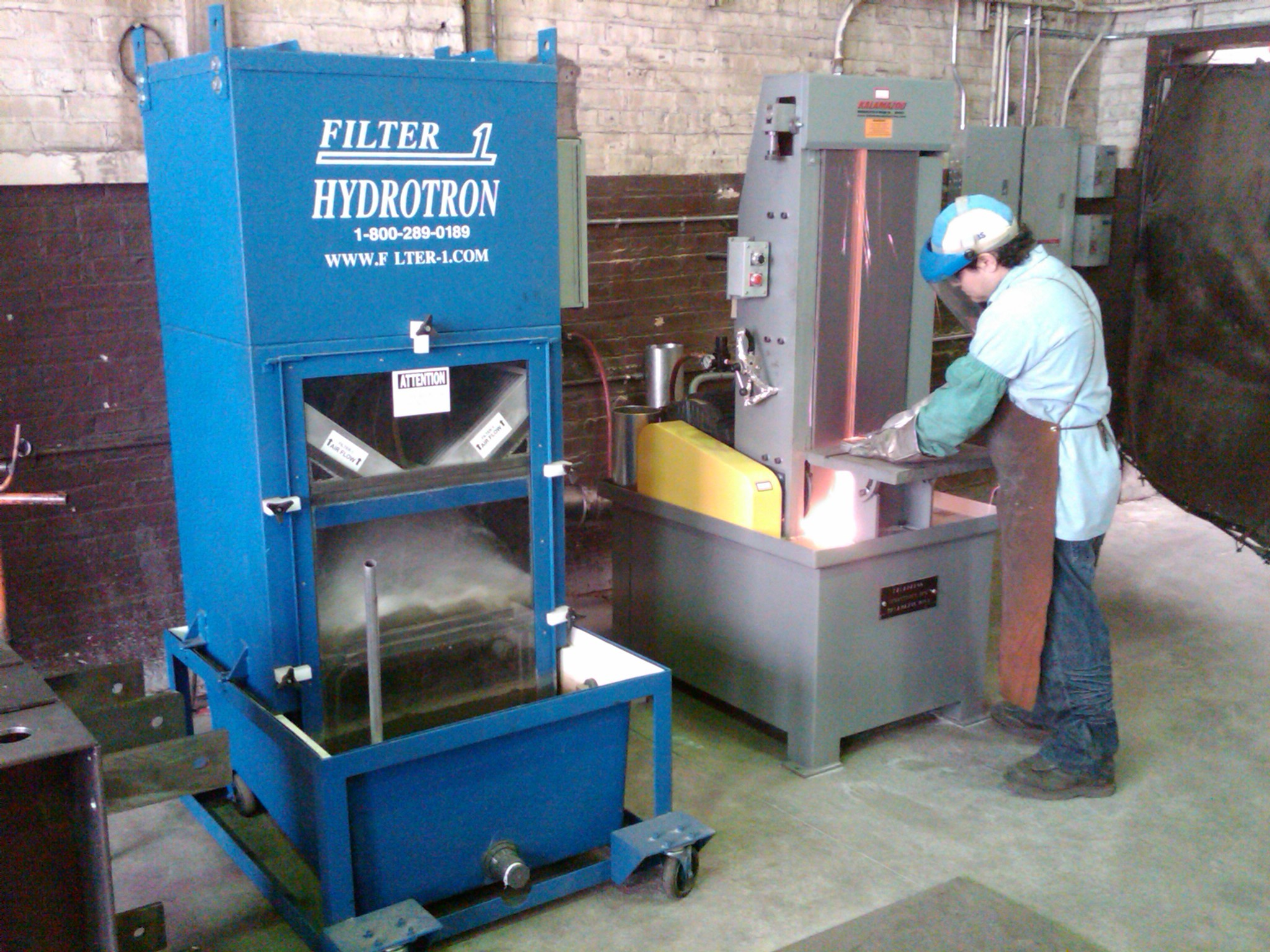 Hydrotron Wet Dust Collector